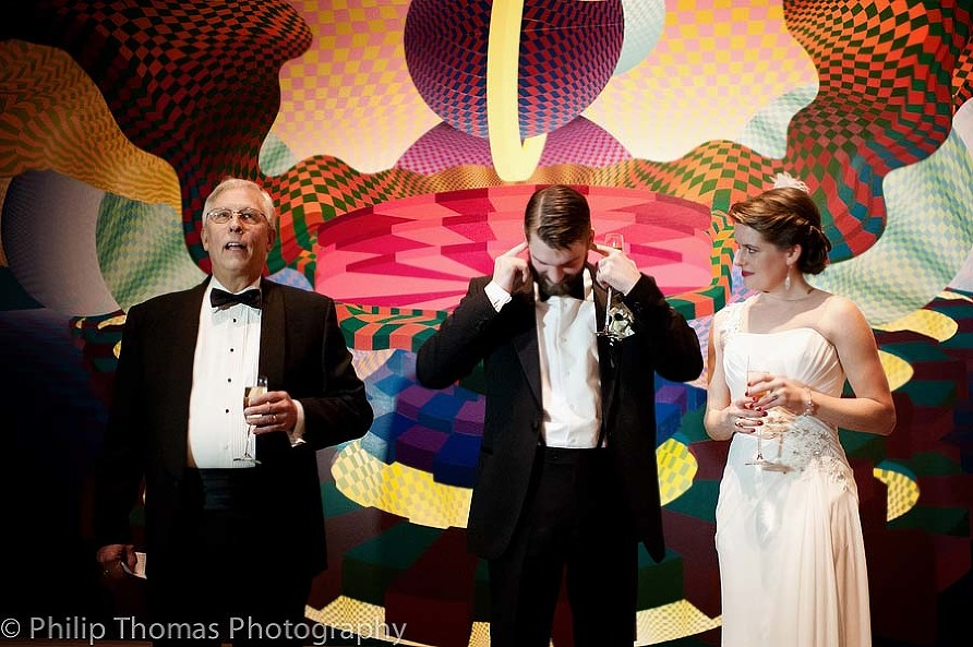 Jennie and Luke- A very funny moment- Philip Thomas Photography