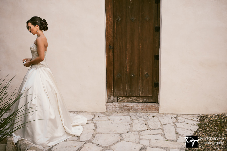 The Bride waiting- Philip Thomas Photography